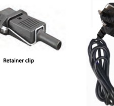 Mains Cord UK for Smart IP43 / Skylla-S Charger 2m