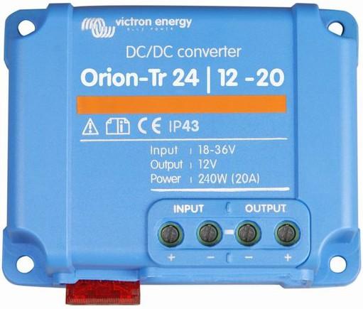 ORI241220200R 240W DC-DC Victron energy Orion-Tr 24//12-20