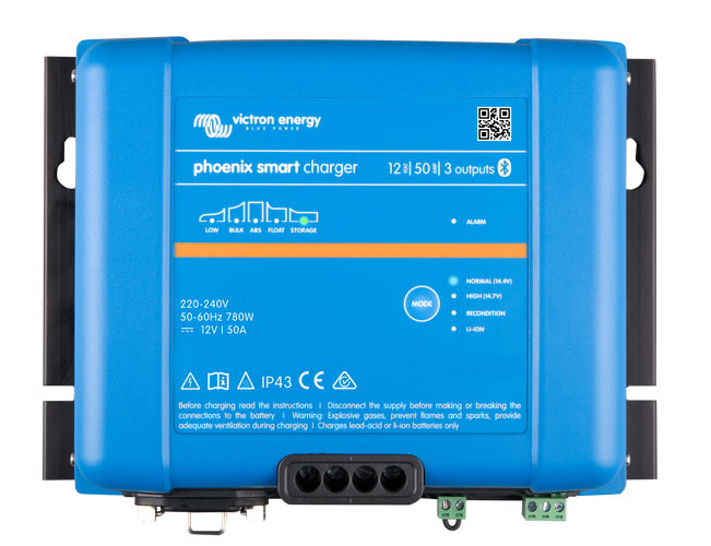 IP43 230 V 1+1 Victron Phoenix Smart Charger 12//30